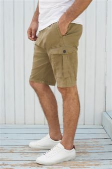 Elasticated Waist Cargo Shorts