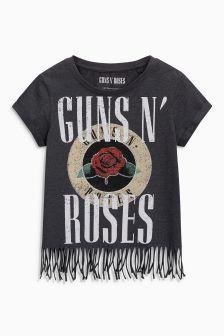Koszulka z frędzlami Guns N' Roses (3-16 lat)