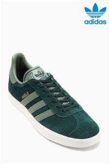 adidas Originals Green Suede Gazelle