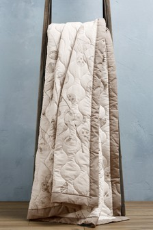 Seed Pod Quilted Throw