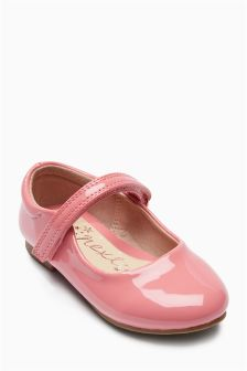 Mary Jane Glitter Shoes (Younger Girls)