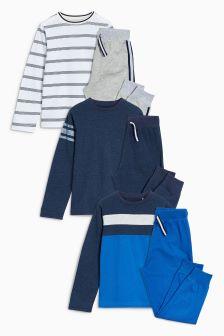 Stripe Pyjamas Three Pack (3-16yrs)