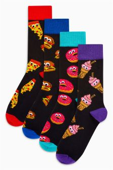 Food Socks Four Pack