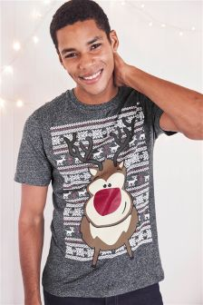 Reindeer T-Shirt (Mens)