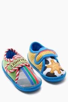 Toy Story Slippers (Younger Boys)