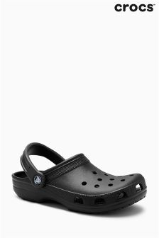 حذاء خف أسود Classic من ™Crocs