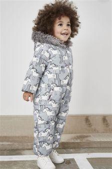 Printed Snowsuit (3mths-6yrs)