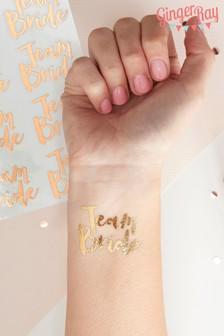 Ginger Ray Temporary Tattoos