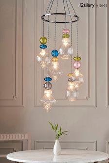 Coast Multi Azure Orsay Midi Dress