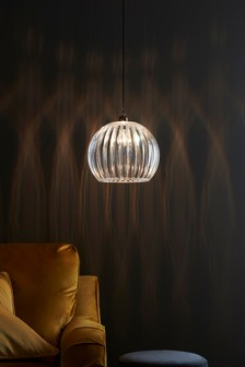 Lighting ceiling lights clear ceilinglights next ireland ella easy fit pendant mozeypictures Gallery