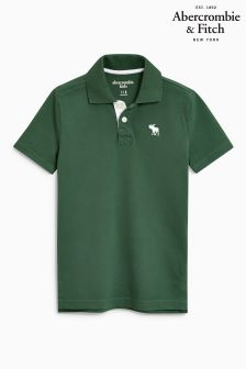 Abercrombie & Fitch Green Classic Polo