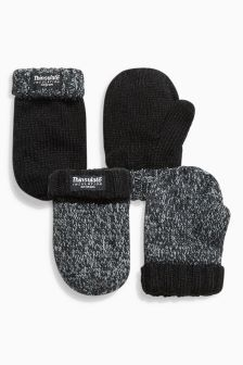 Thinsulate® Mittens Two Pack (Younger Boys)