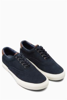 Suede Lace-Up
