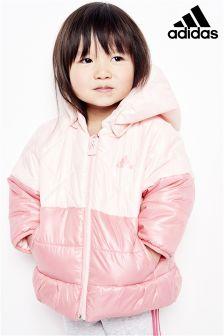 adidas Baby Pink Padded Jacket
