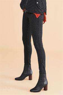 Stripe Jersey Leggings