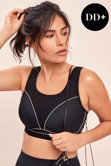 Extra High Impact Non Wired Non Padded Sports Bra