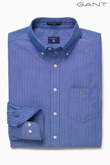 Gant Blue Pinstripe Broadcloth Shirt