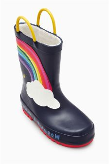 Rainbow Wellies (Younger Girls)