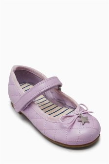 Quilted Mary Jane Shoes (Younger Girls)