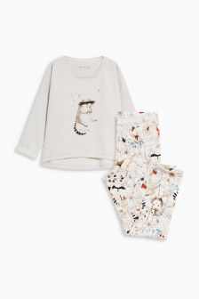 Raccoon Legging Pyjamas (3-16yrs)