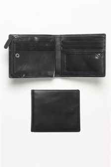 Bifold Zip Wallet