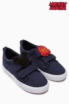 Mickey Mouse™ Double Strap Shoes (Younger Boys)