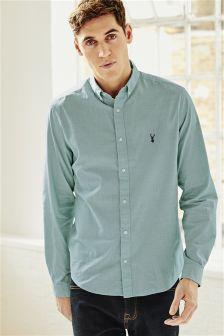 Long Sleeve End On End Shirt