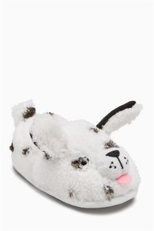 Dog Character Slippers (Younger Girls)