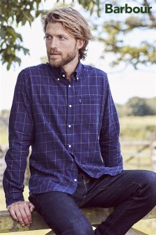 Barbour® Navy Archie Check Shirt