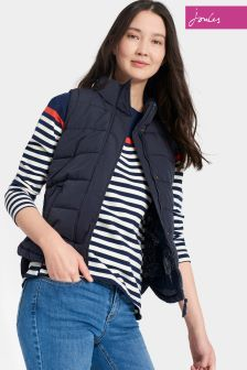 Joules Navy Padded Eastleigh Gilet
