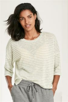 Stripe Textured Top