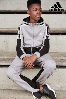 adidas Grey/Black Colourblock Jogger