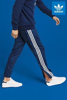 adidas Originals Navy Snap Track Pant