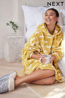 Abercrombie & Fitch Navy Logo Overhead Hoody