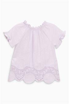 Lace Hem T-Shirt (3mths-6yrs)
