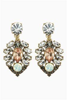 Pretty Jewel Drop Earrings