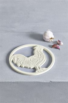 Cream Chicken Trivet
