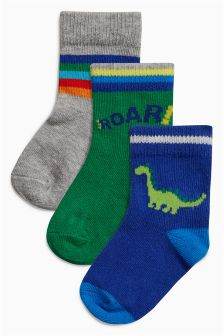 Socks Three Pack (Younger Boys)