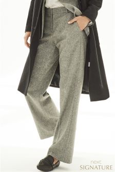 Signature Suit Slouch Trousers