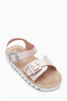 Metallic Sporty Sandals (Younger Girls)