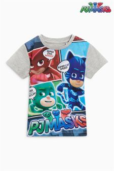 Short Sleeve PJ Masks T-Shirt (3mths-6yrs)