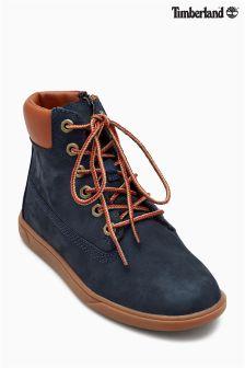 "Timberland® Navy/Tan Groveton 6"" Lace Boot"