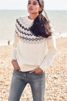 Fairisle Pattern Sweater