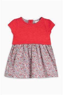Woven Mix Dress (0mths-2yrs)