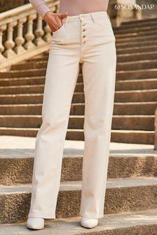 Pure Collection Blue Boyfriend Cashmere Sweater