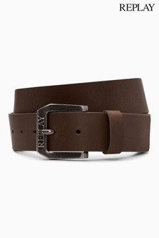 Replay® Leather Belt