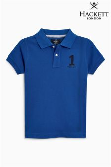 Hackett Blue Younger Boys Poloshirt