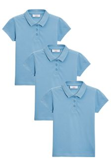 Koszulki polo w trójpaku (3-16 lat)