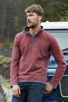 Fat Face Russet Red Airlie Sweat