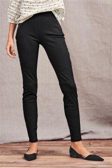 Jersey Zip Leggings